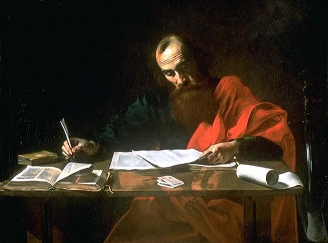 el apóstol Pablo escribe sus epístolas a las iglesias