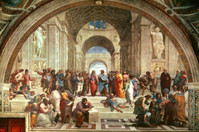 school of athens teologia y filosofia